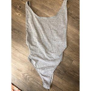 NEVER WORN American apparel thong bodysuit